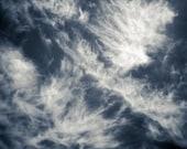 Desert Cloud Photo 5 x 5 Fine Art Metallic Print