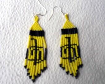 Cho Ku Rei Beaded Earrings