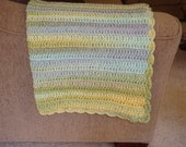 "Large Limeade Blanket/Throw 50"" x 60"""