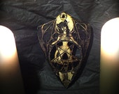 Lord Mocks devil Girl Planchette (Spirit Pointer)