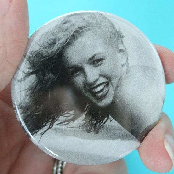 norma mermaid single 2.25 mirror. Pocket vanity. check your glamour, fancy pants. totally one of a kind.