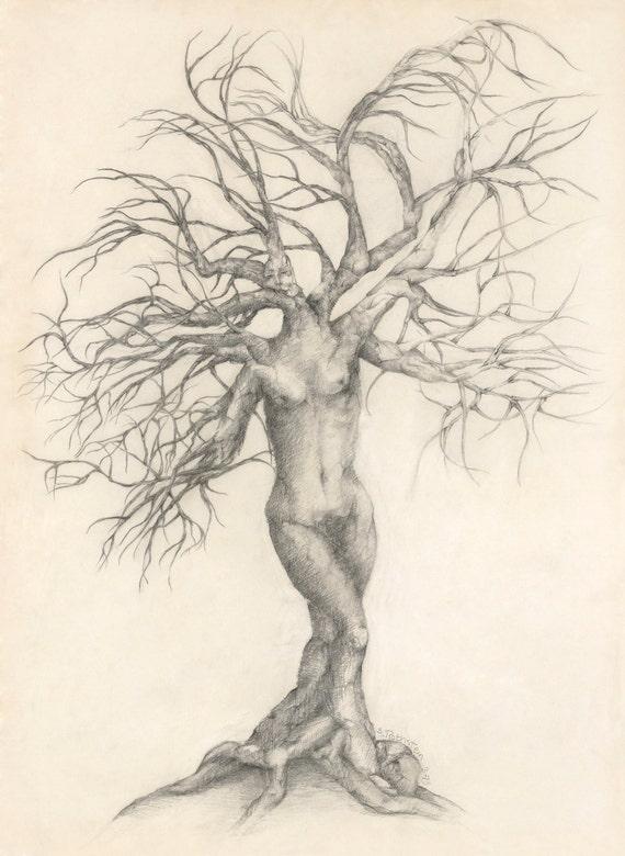 "Woman in Tree -"" Life Journey"" ( my soul spoke to me)"