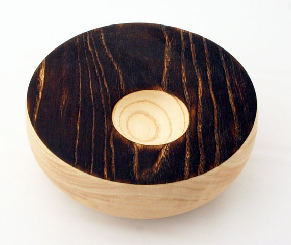 White Oak Off Center Pyro Bowl