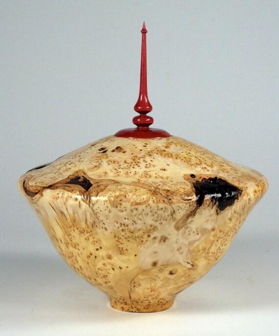 Alaskan Yellow Cedar Treasure Vessel Pet Urn