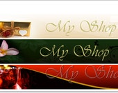 Etsy Shop Banners. Etsy Custom banner design.