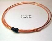 SOLID COPPER WIRE 10 Gauge, 3 Feet, Ready to Ship!