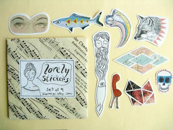 Lovely Sticker Set