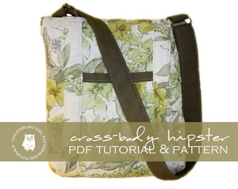 Cross-Body Hipster - PDF Tutorial & Pattern