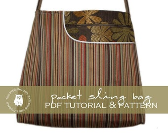 Pocket Sling Bag - PDF Tutorial and Pattern
