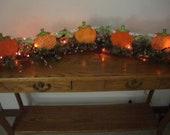 Special order for Julie   Turkey and Pumpkin Banner