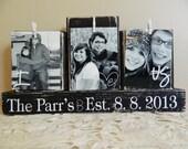 Personalized Wedding gift decoration wedding registry personalized photo shower gift anniversary gift wedding gift black and white wedding