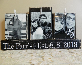 Personalized Wedding gift decoration wedding registry personalized photo shower gift anniversary gift wedding gift black and white wedding