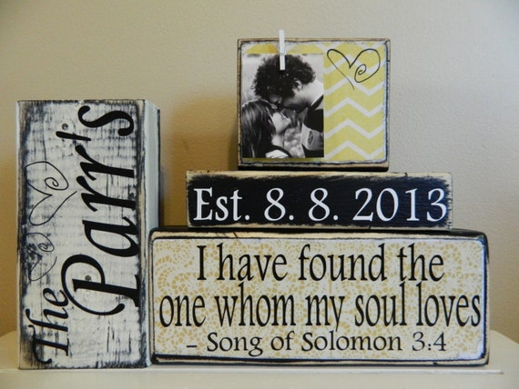 Wedding Gifts With Quotes : wedding gift/decoration quote chevron anniversary gift shower gift ...