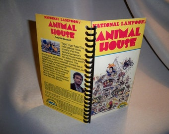 Animal House VHS tape box notebook