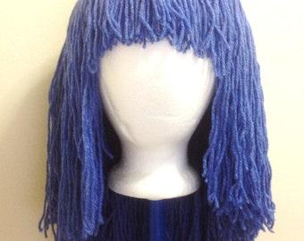 Handmade Crochet yarn Hair wig Pattern ,Tutorial PATTERN, babies, kids, and adult