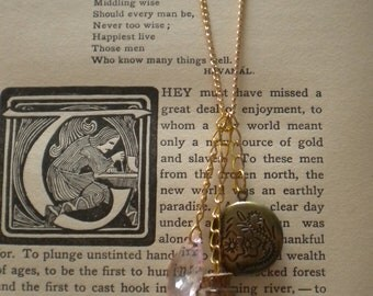Moon Dream Potion Charm Necklace w/ Locket