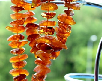 Baltic Amber Necklace Deep Honey Color