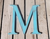 "Extra Large 16"" Rustic Wooden Letters"