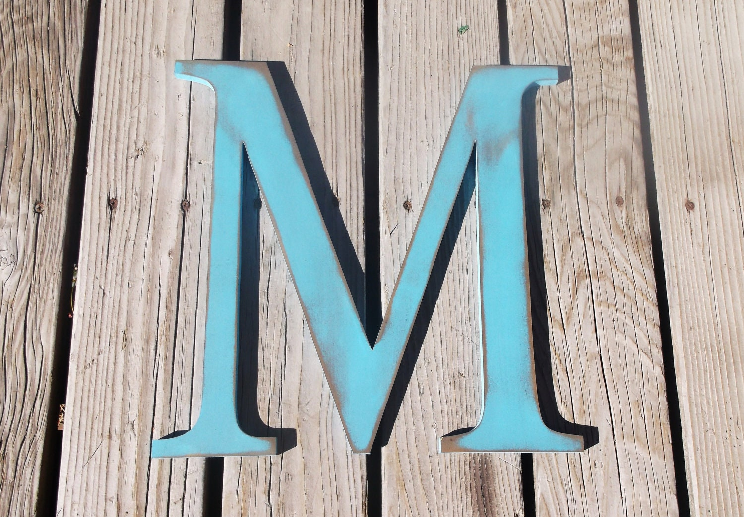 Extra large 16 rustic wooden letters by busybeevinyl on etsy for 16 wooden letters