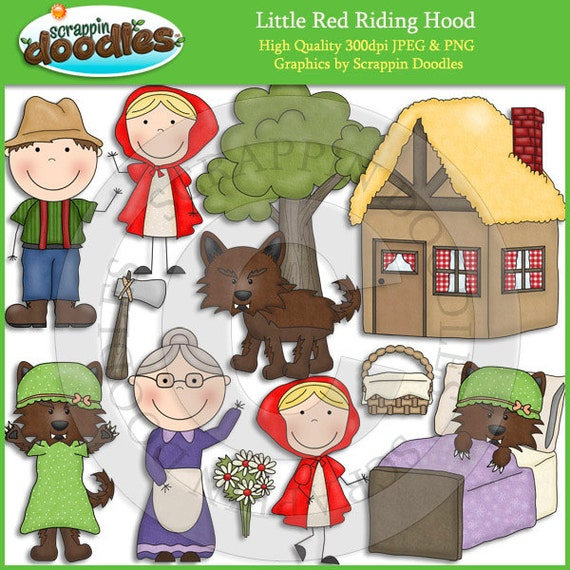 little red riding hood story with pictures pdf