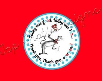 Dr. Seuss Favor Tags- Printable