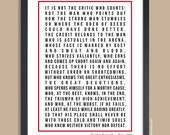 Inspirational Quote Print, Personalized Poster (Favorite Quote, message, song lyrics) custom colors, 11x14, 12x18, 16x20