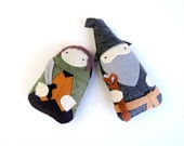 The Hobbit - Frodo and Gandalf  - LOTR - Plush Childrens Toy Doll
