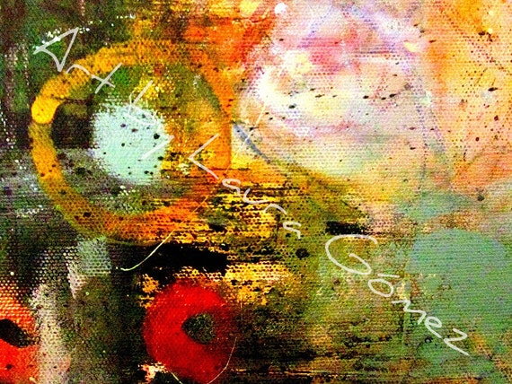 I Finally Found You II - Print of Original Art byLaura Gomez -Abstract-Modern-Contemporary Art