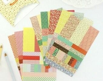 Petit Deco Pattern Sticker Set (8 sheets)