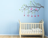Child Decor- I Love You Tree - Kids Wall Decals