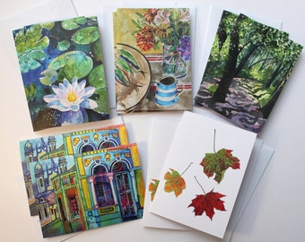 20 Fine Art Greetings Cards and Christmas Cards - The Francesca Whetnall Collection