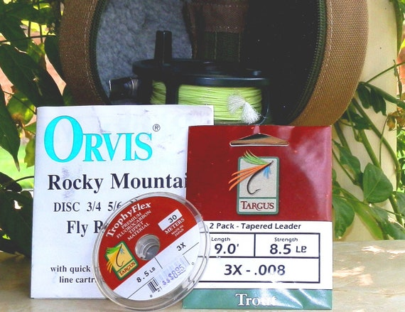 Orvis Rocky Mountain Disc Fly Reel 5/6 Reel 663E-61 Fishing
