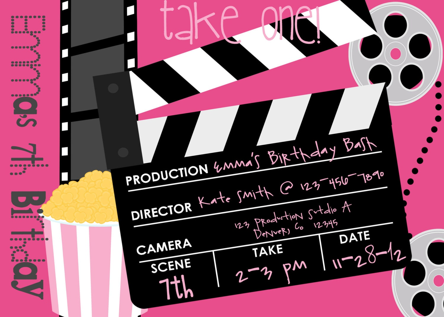 movie invitation