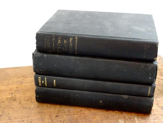 Vintage Black Book Collection