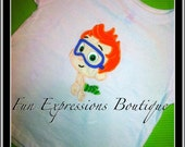 Bubble Guppies Appliqued Shirt