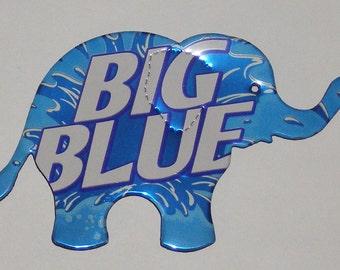 Elephant Magnet - Big Blue Cola Soda Can (Replica)