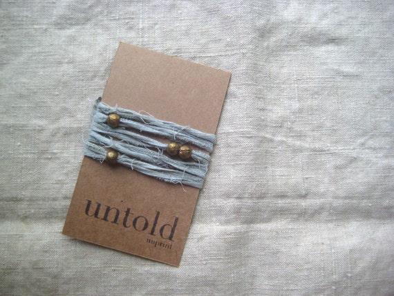 Celadon Cotton Wrist Wrap
