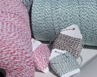 Bakers Twine - Christmas Twine Value Pack  - BULK BUY - Three Colors - Your Choice of Total Amounts