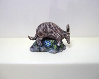 Armadillo, Miniature ceramic armadillo