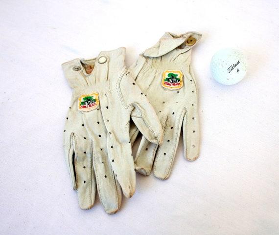 Vintage Golf Gloves, Pebble Beach, Vintage Gloves, Ladies Golf Gloves, Vintage Sports, Sporty Accessories