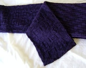 The Draw rugby scarf (knitting pattern)