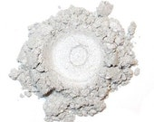 Mineral Eye Shadow SOLAR FLARE 3 Grams or 5 grams - Metallic Silver White