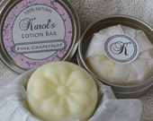 Solid Lotion Bar - Pink Grapefruit