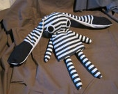 Derpy Emo Gothic Bunny Doll 2