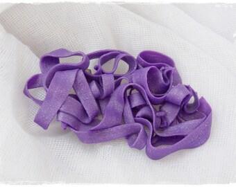 Purple Statement Brooch, Polymer Clay Brooch, Spaghetti Abstract Broach, Cocktail Scarf Pin, Retro Clay Pin, Pop Art Brooch, Boho Cosmic Pin