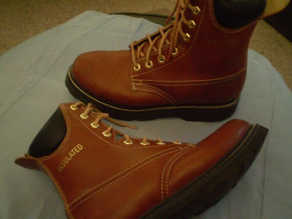 clearance vintage mens 6 1 2 ramrods insulated work boots