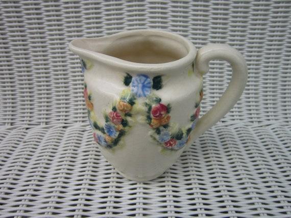 Stoneware pitcher rare