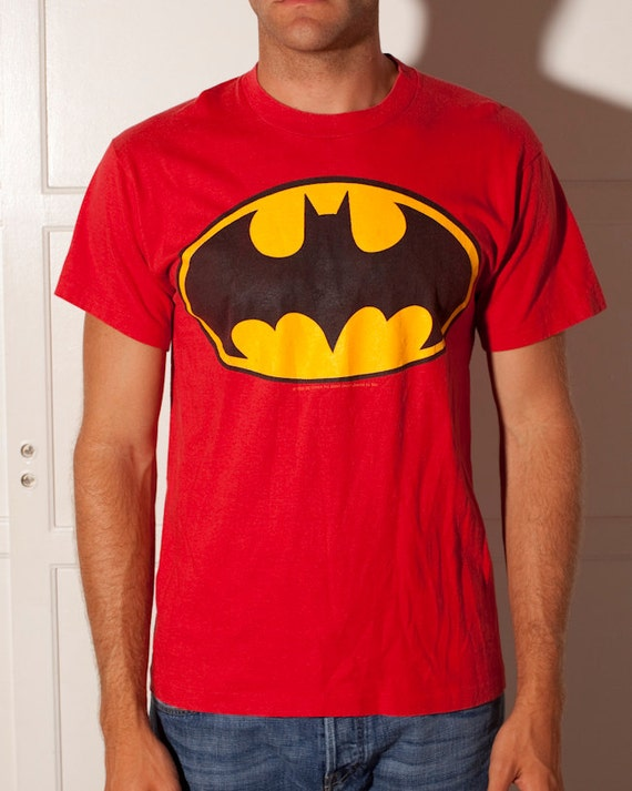 BATMAN - Red Yellow and Black - 20 on the back