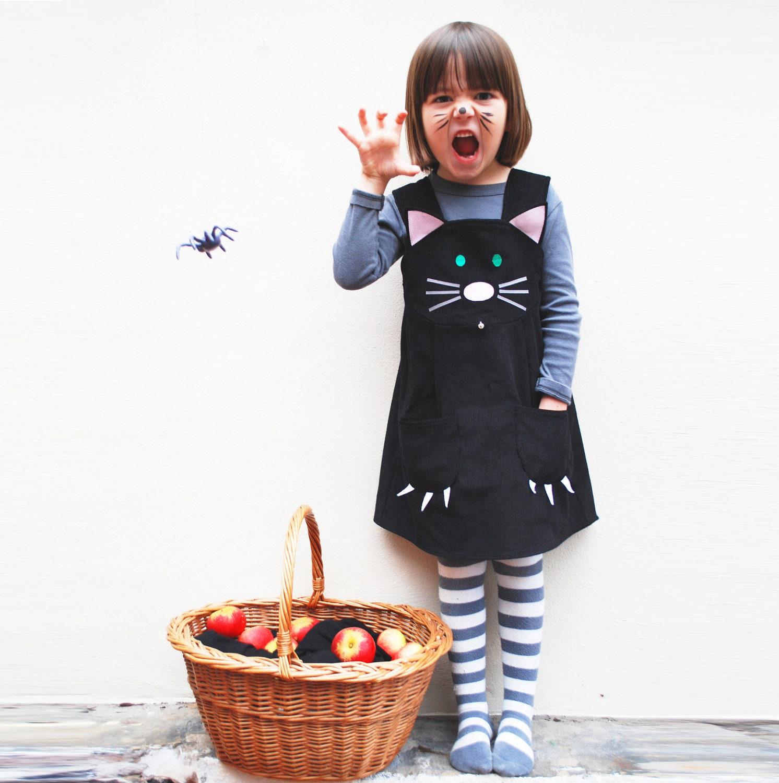 Follow my passion Cat Dress girl baby dress costume