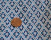 Vintage Flour Sack / Feed Sack Fabric Blue Dots Pattern